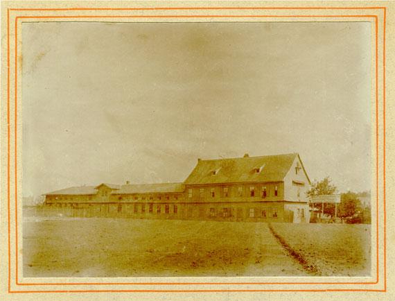 Unser Betrieb um 1850 in Erfurt-Daberstedt.