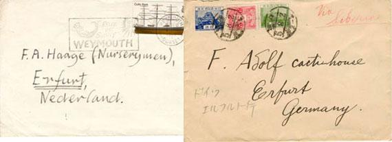 Briefe Kakteen-Museum