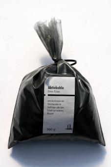 Aktivkohlepuder 0-1 mm 200 g