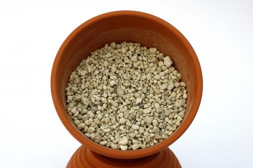 Pumice 2-5 mm - 25 l washed - [Erdbox]