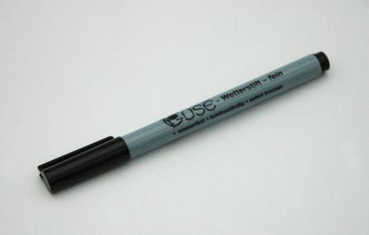 waterproof marker (0,5mm)
