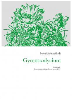 Gymnocalyciumverzeichnis