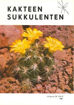 Kakteen und Sukkulenten 1981/2