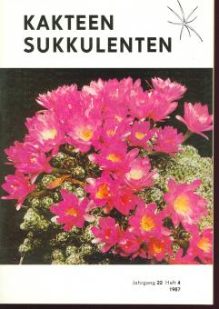Kakteen und Sukkulenten 1987/4