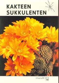Kakteen und Sukkulenten 1988/4