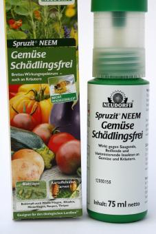 Neem Spruzit ® Gemüse Schädlingsfrei - Neudorff 75 ml
