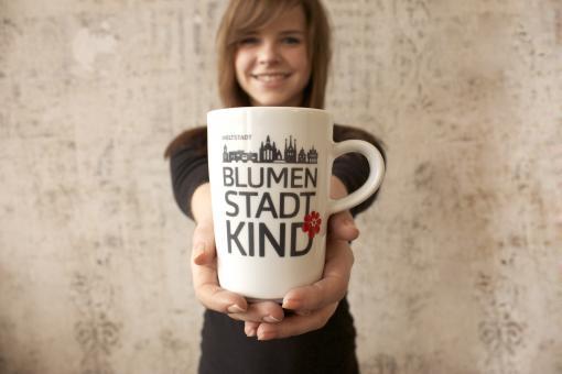 Tasse BLUMENSTADTkind - die Tasse für Erfurt
