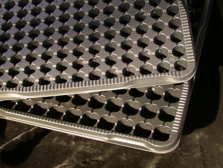 Propagation tray for 160 plants