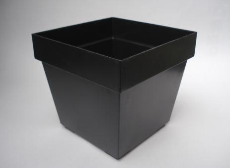 Pots 13 cm, square, size 11,5 x 11,5 x10,5