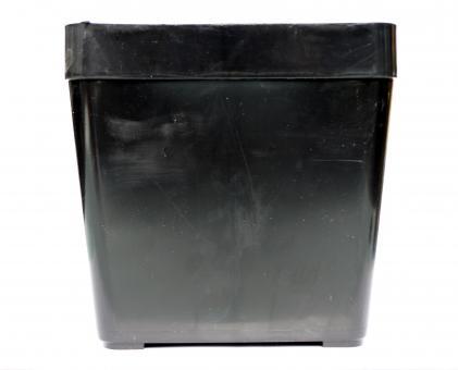 Pots 18 cm, square, size 18 x 18 x 17 cm, flexible containers)